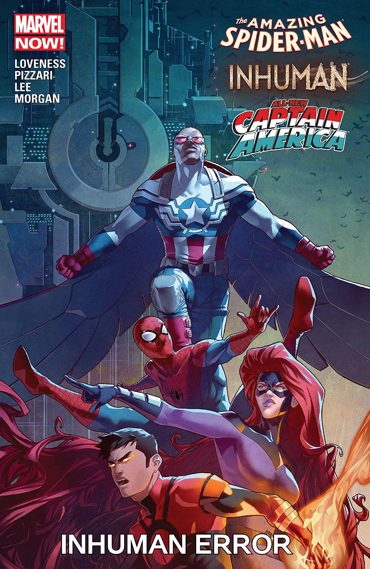 Amazing Spider-Man / Inhumans / All-New Captain America: Inhuman Error Vol 1 1