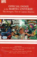 Avengers, Thor & Captain America Official Index to the Marvel Universe Vol 1 12
