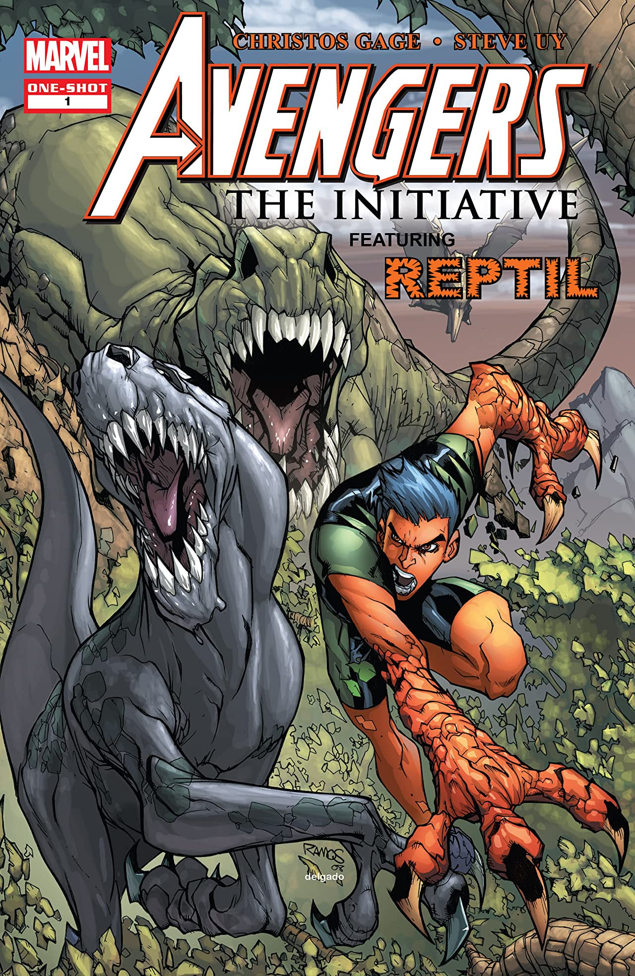 Avengers: The Initiative Featuring Reptil Vol 1 1