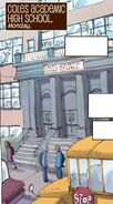 Coles Academic High School from Ms. Marvel Vol 3 3 001