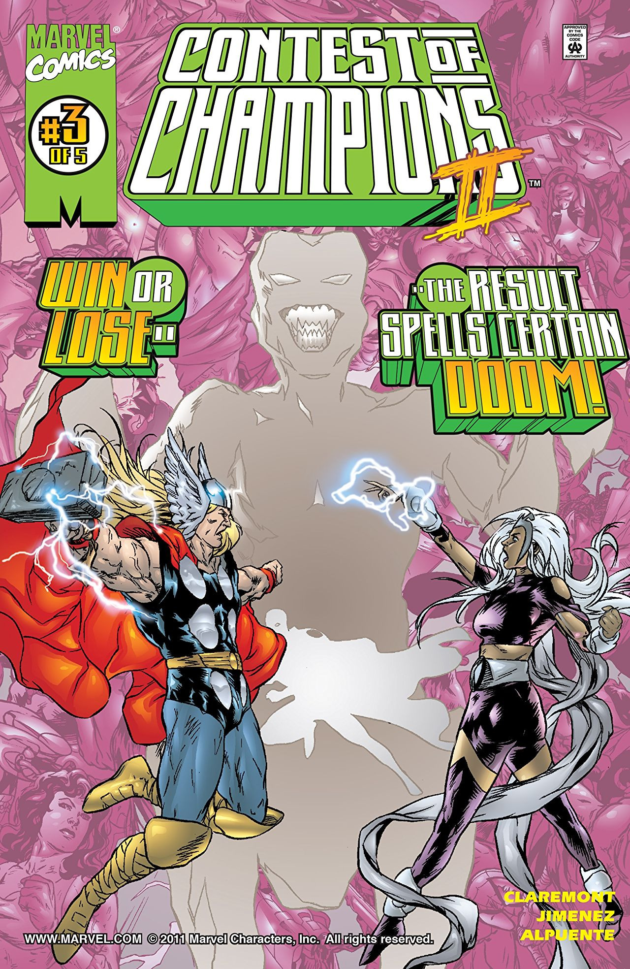 Contest of Champions II Vol 1 3