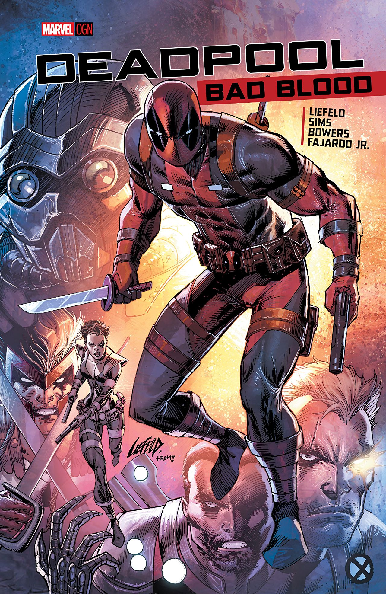 Deadpool: Bad Blood Vol 1 1