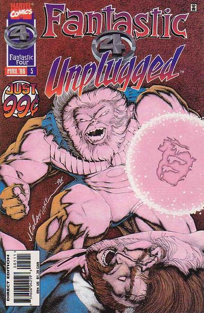 Fantastic Four: Unplugged Vol 1 5
