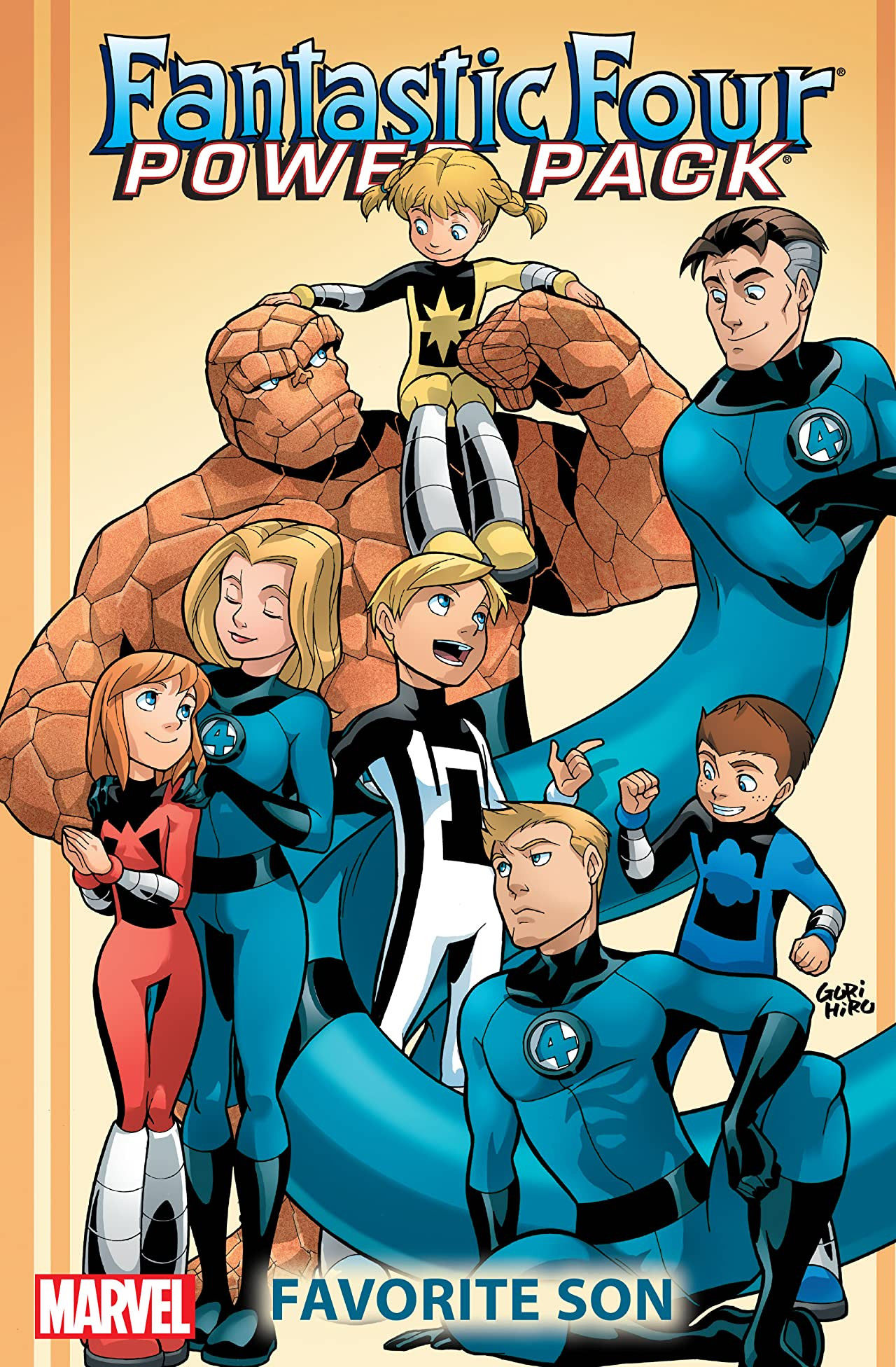 Fantastic Four and Power Pack: Favorite Son TPB Vol 1 1