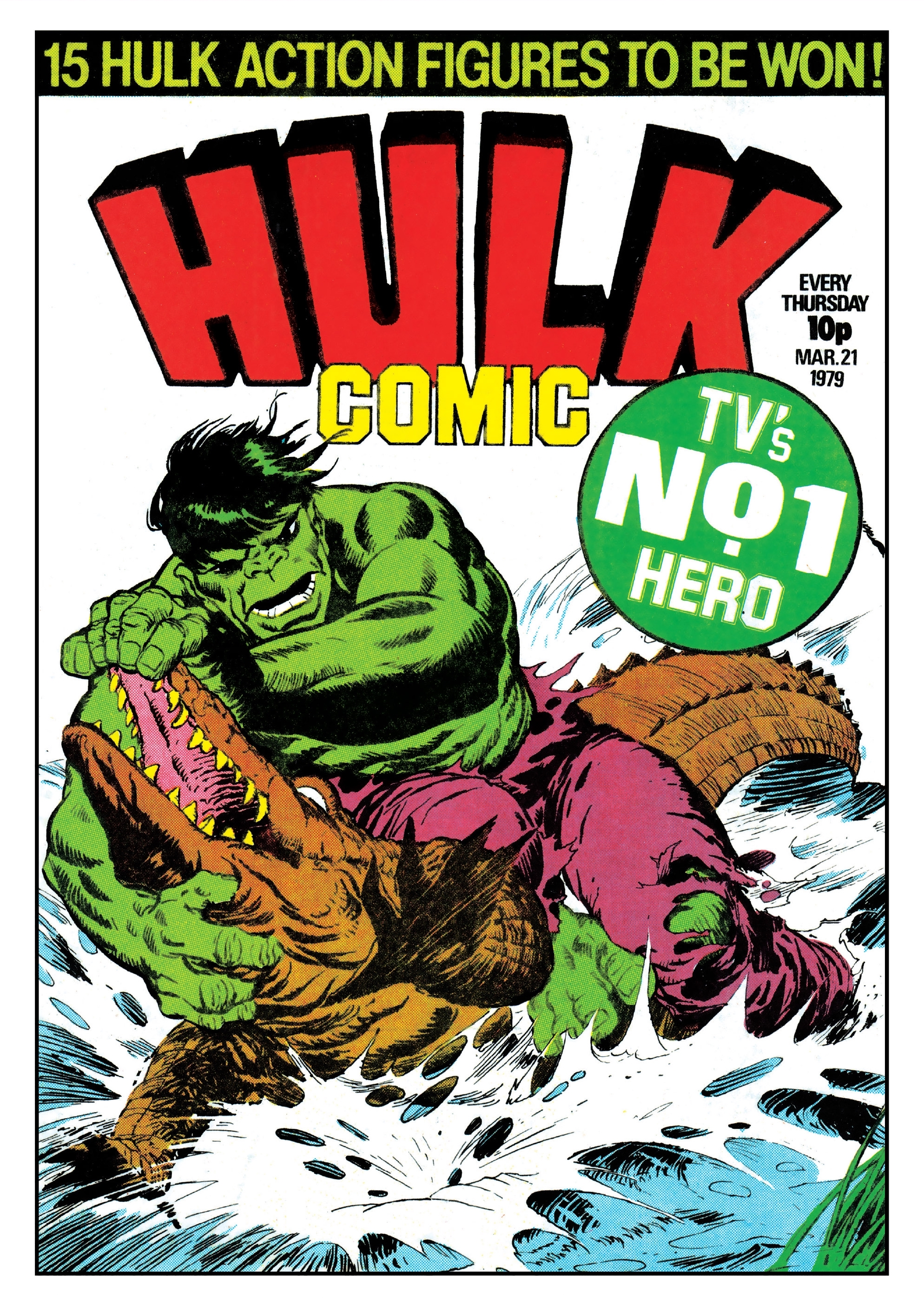 Hulk Comic (UK) Vol 1 3