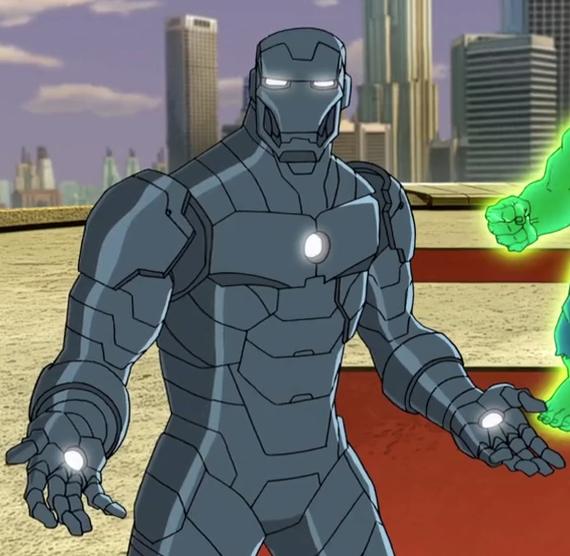 Iron Man Armor MK II (Earth-12041)
