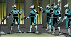 Kymellian Steel Brigade (Earth-616) from Legendary Star-Lord Vol 1 5 001.png