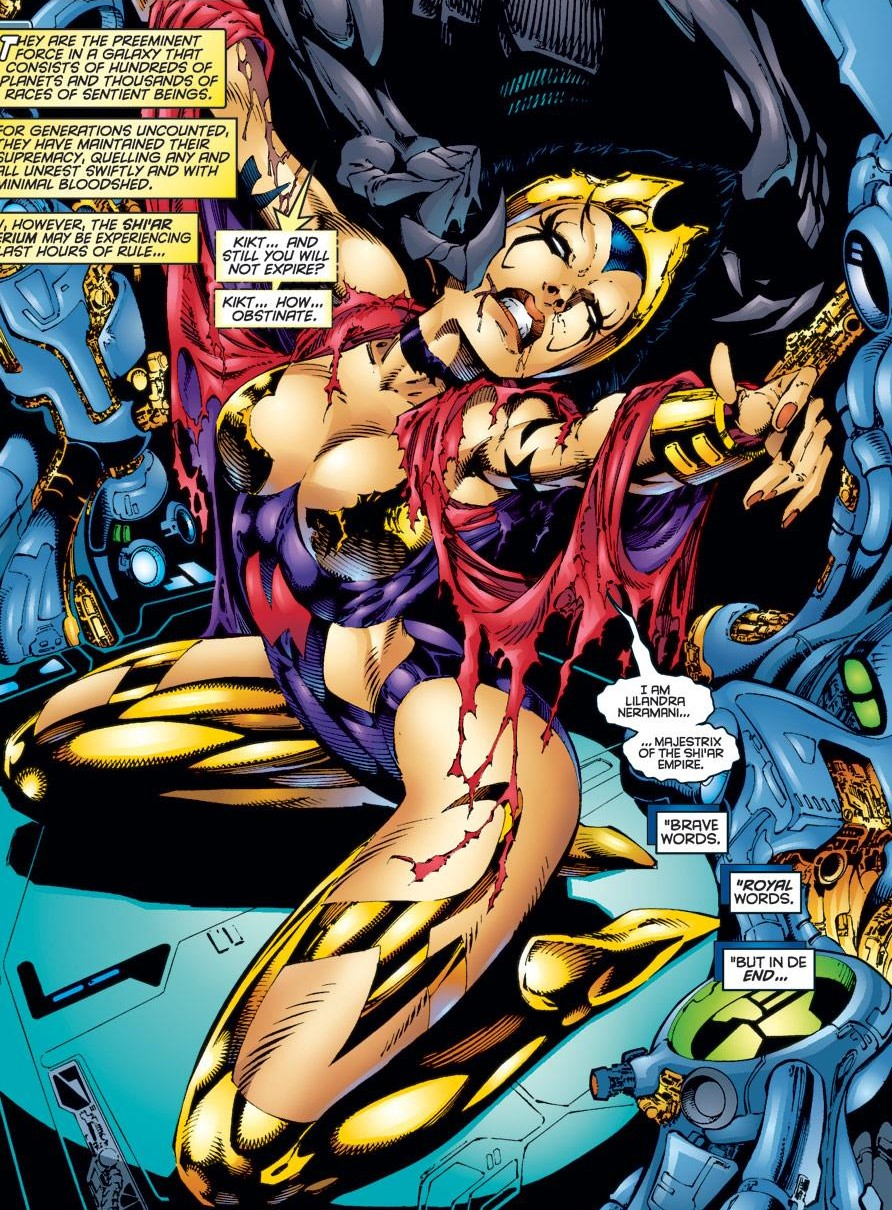 Lilandra Neramani (Earth-616)--Uncanny X-Men Vol 1 344 001.jpg