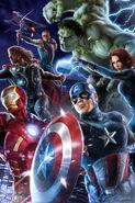 Marvel's The Avengers film poster 020