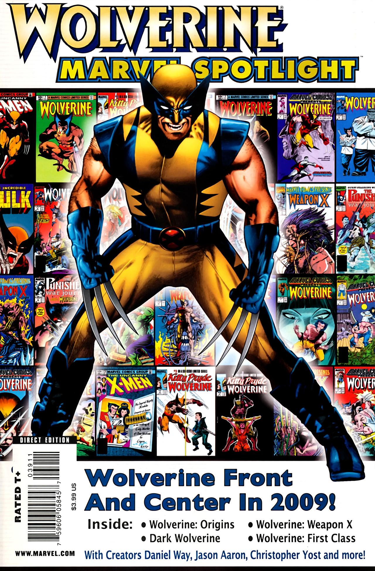 Marvel Spotlight: Wolverine Vol 1 1