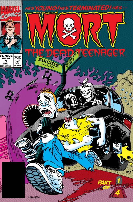 Mort the Dead Teenager Vol 1