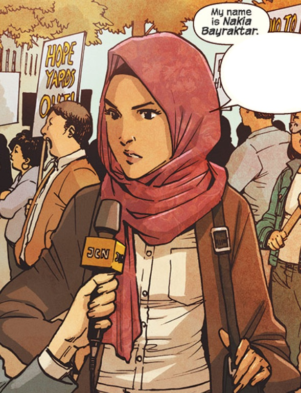 Nakia Bahadir (Earth-616)