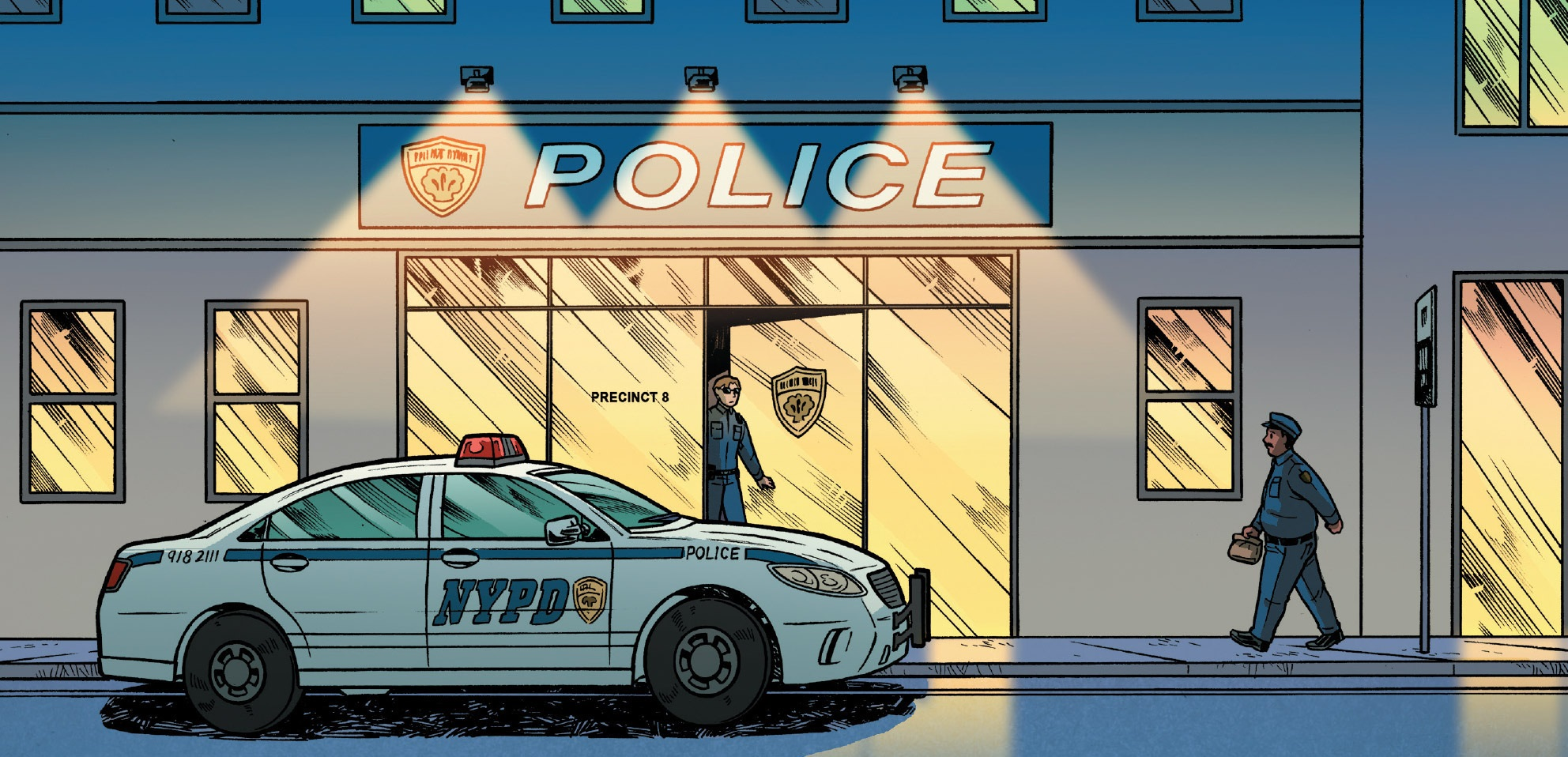 New York City Police Department (Earth-616)/Gallery