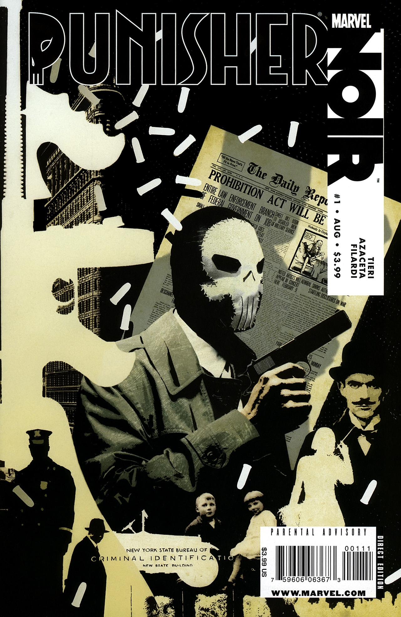 Punisher Noir Vol 1 1