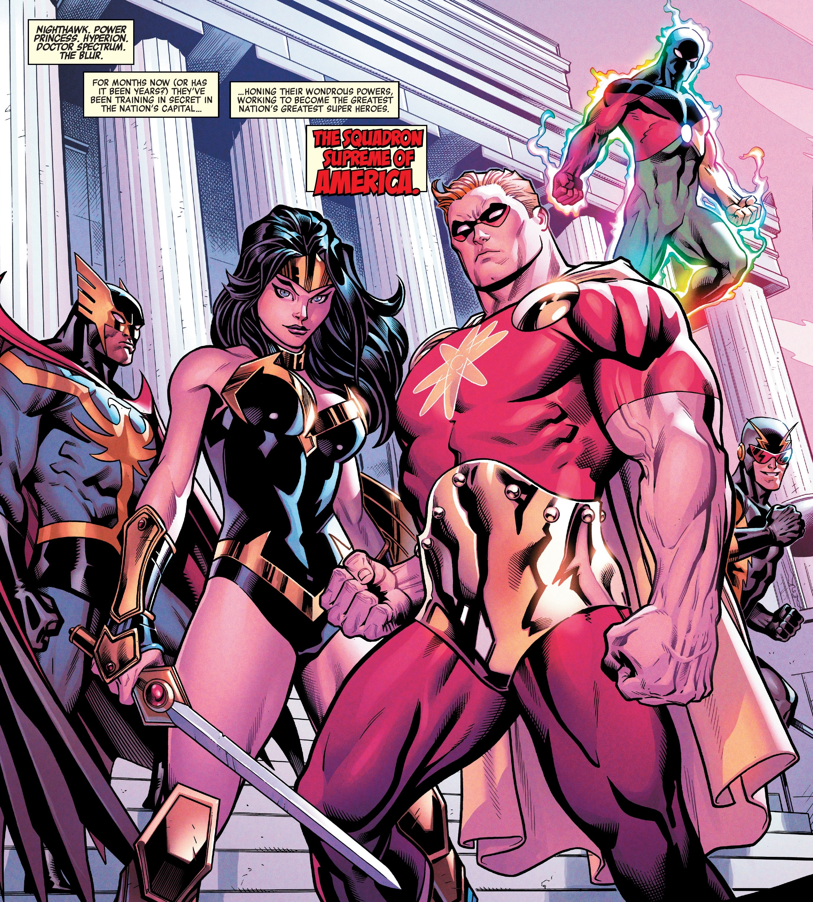 Squadron Supreme of America (Earth-616)