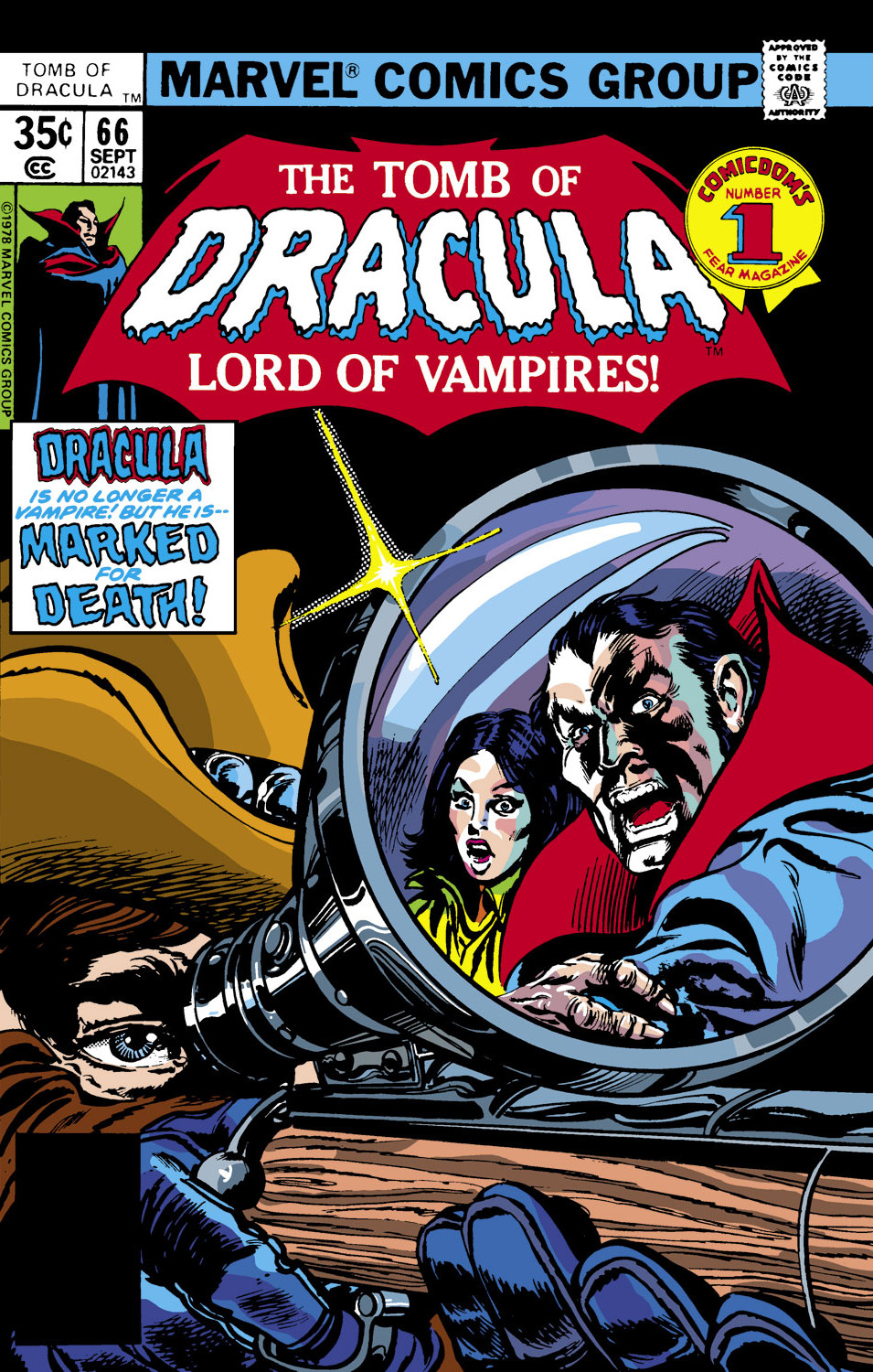 Tomb of Dracula Vol 1 66