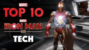 Top Tech In Marvel's Iron Man VR!