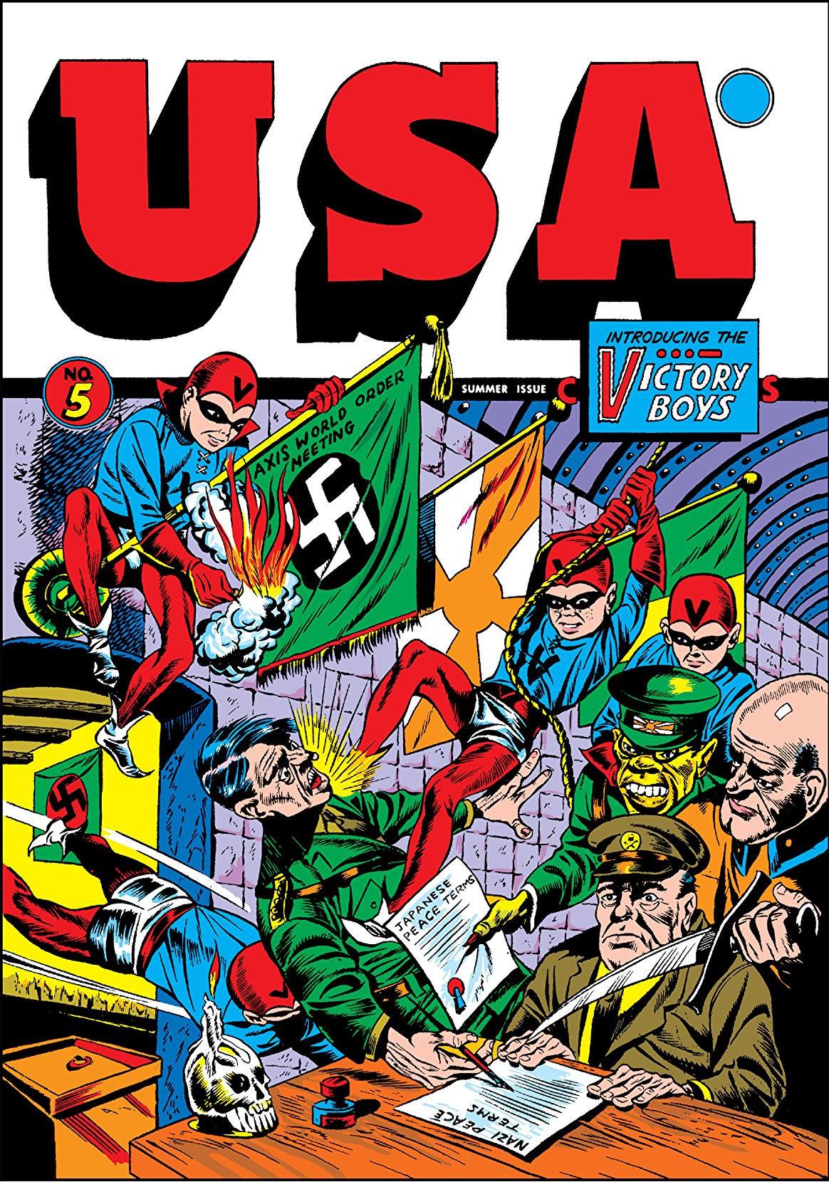 U.S.A. Comics Vol 1 5