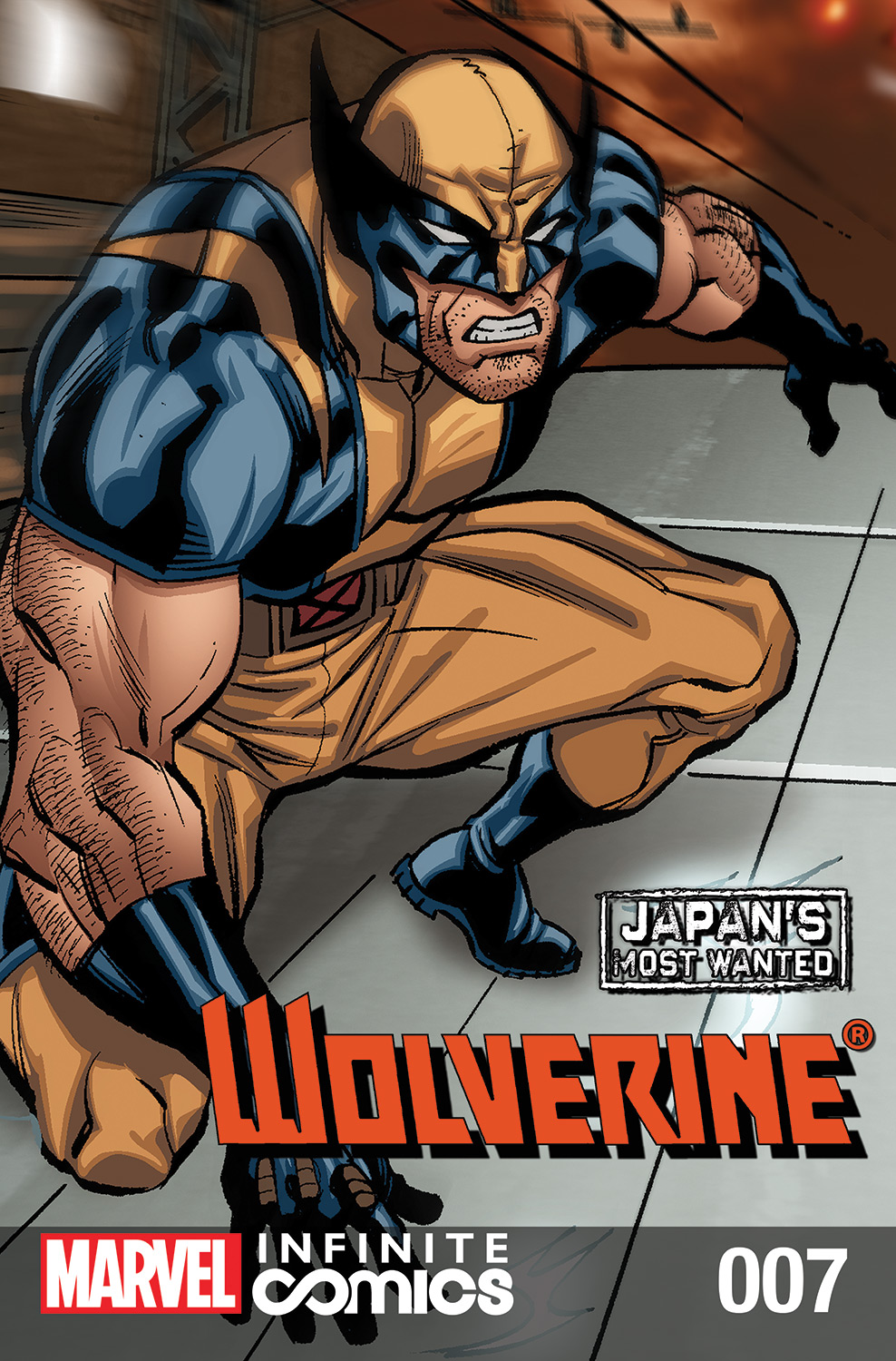 Wolverine: Japan's Most Wanted: Infinite Comic Vol 1 7