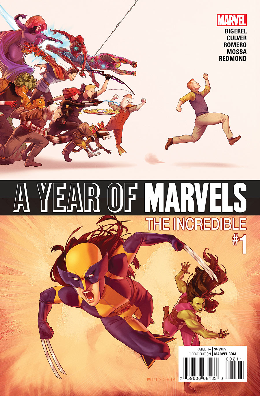 Year of Marvels: The Incredible Vol 1 1