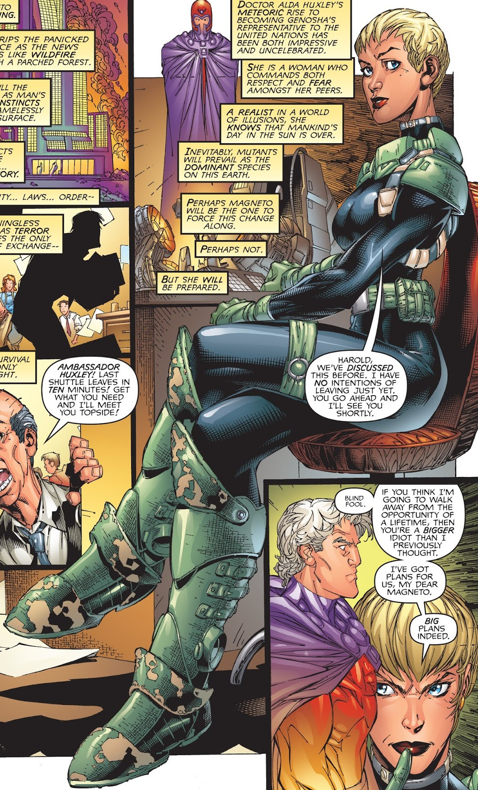 Alda Huxley (Earth-616)
