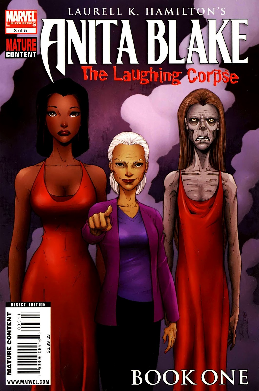 Anita Blake: The Laughing Corpse - Book One Vol 1 3