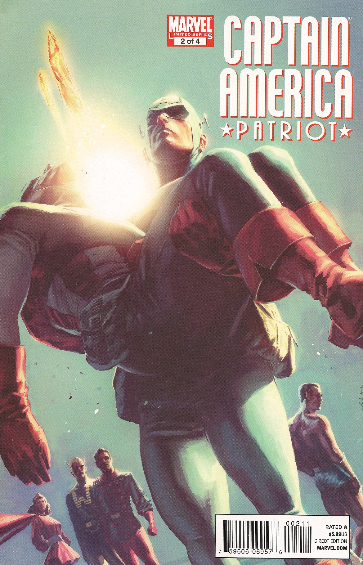 Captain America: Patriot Vol 1 2