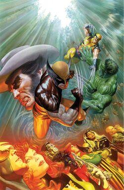 Death of Wolverine Vol 1 1 Ross Variant Textless.jpg