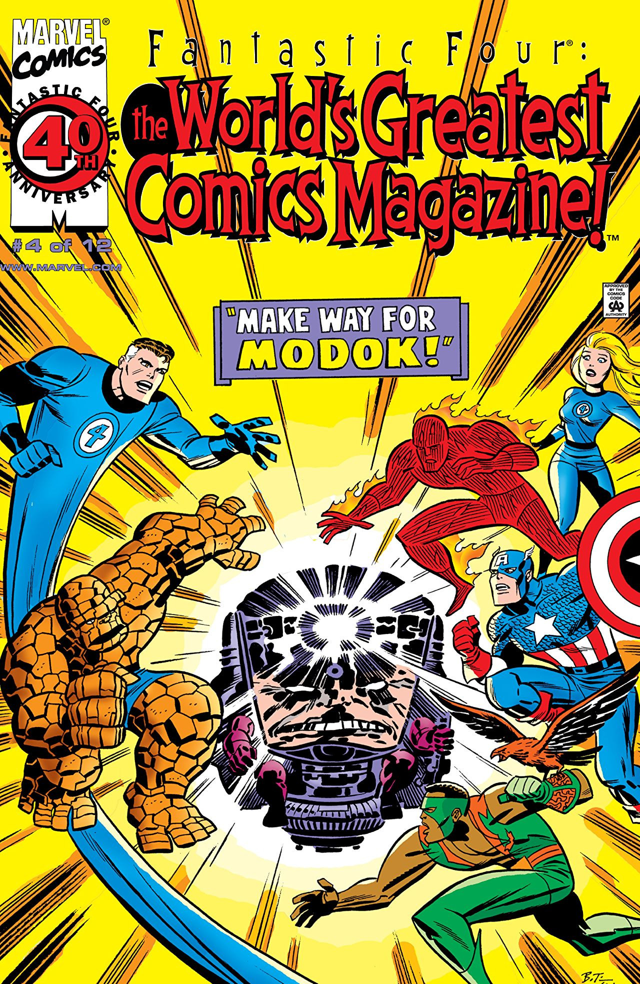Fantastic Four: World's Greatest Comics Magazine Vol 1 4