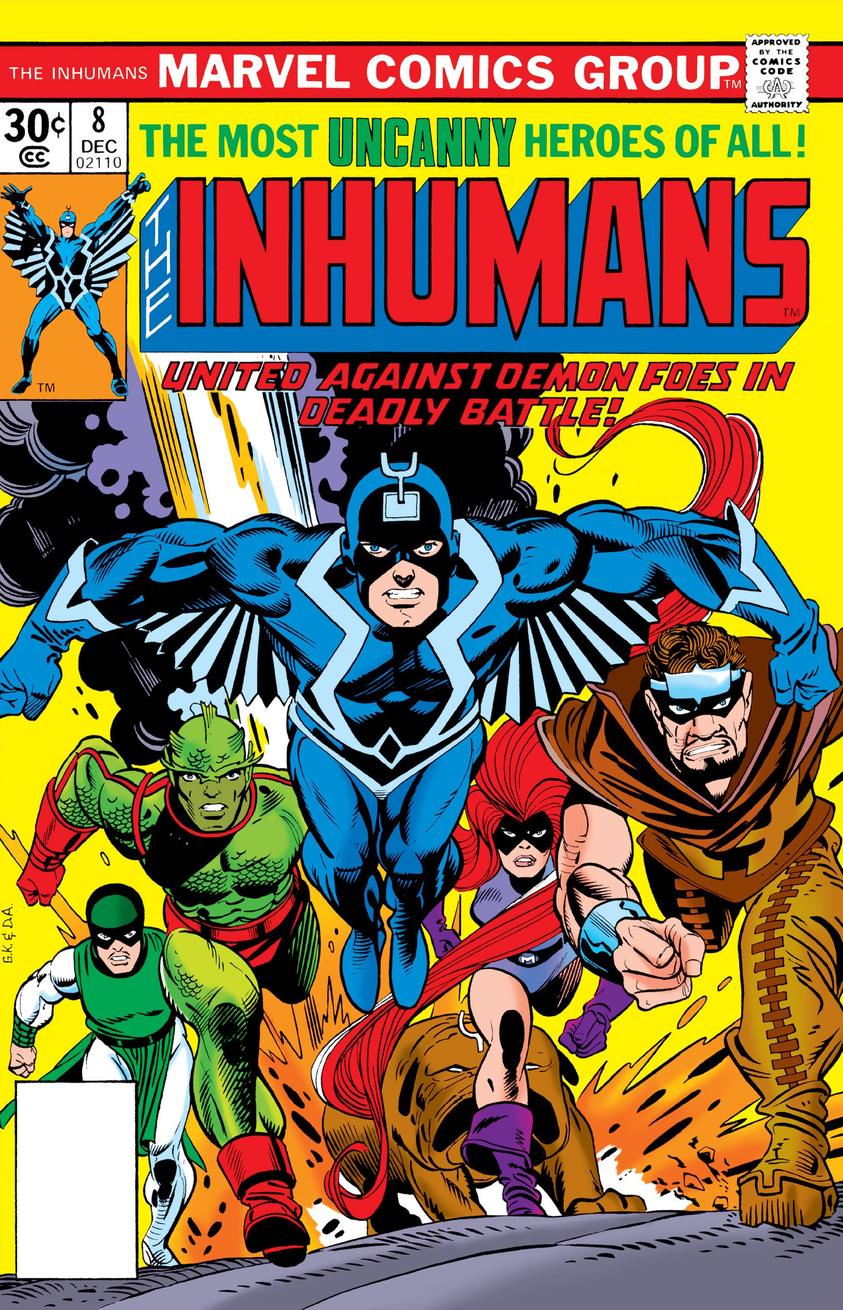 Inhumans Vol 1 8