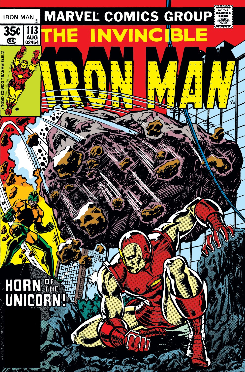 Iron Man Vol 1 113