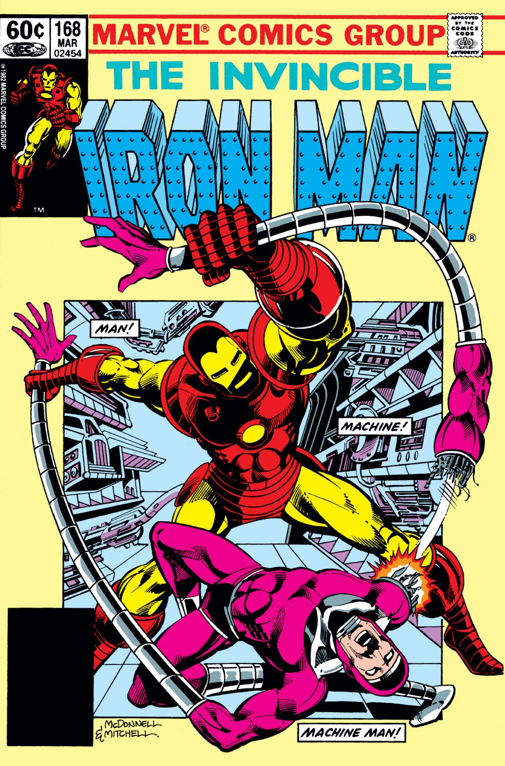 Iron Man Vol 1 168