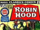 Marvel Classics Comics Series Featuring Robin Hood Vol 1 1