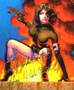 Neena Thurman (Earth-616) from 1994 Marvel Masterpieces (Trading Cards) 0001