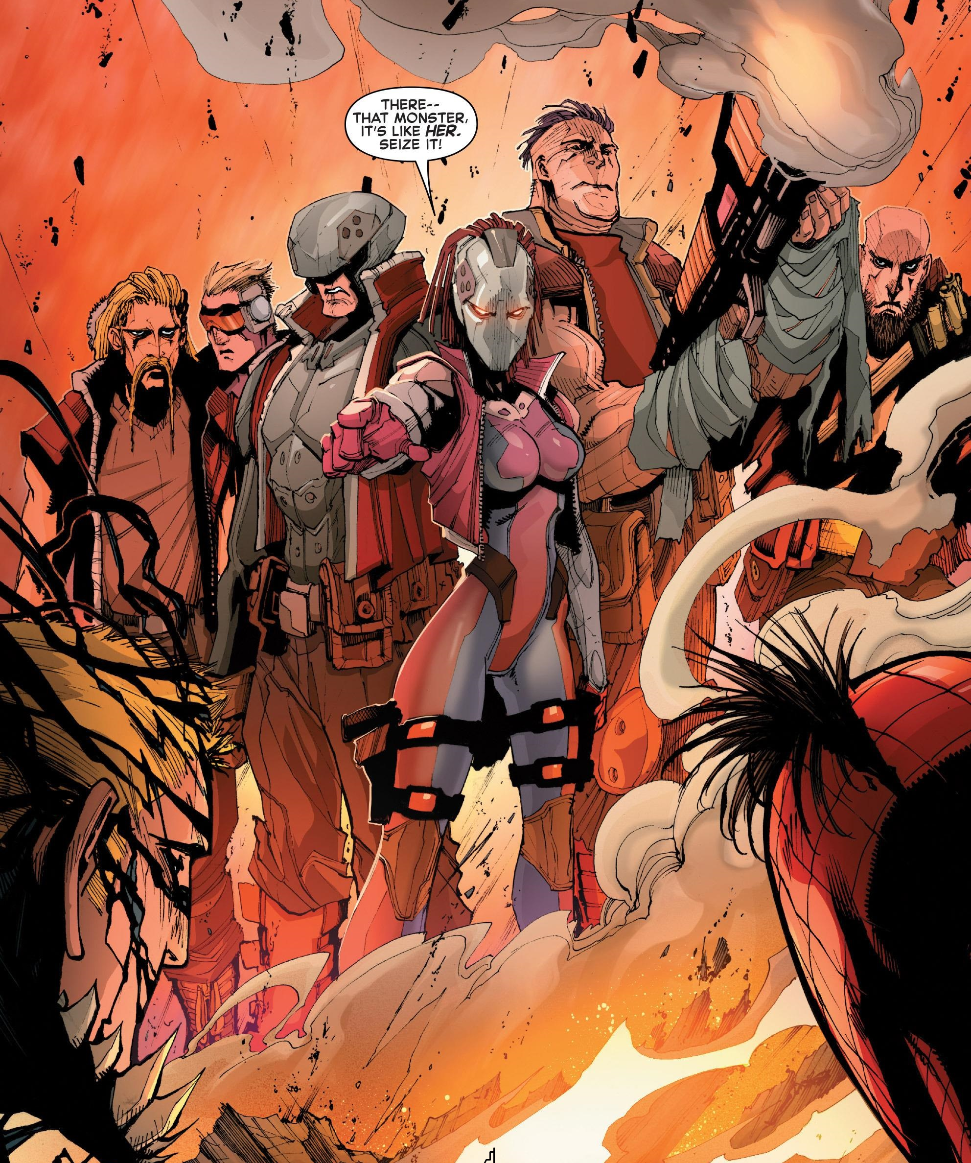 Red Hand Gang (Earth-616)/Gallery