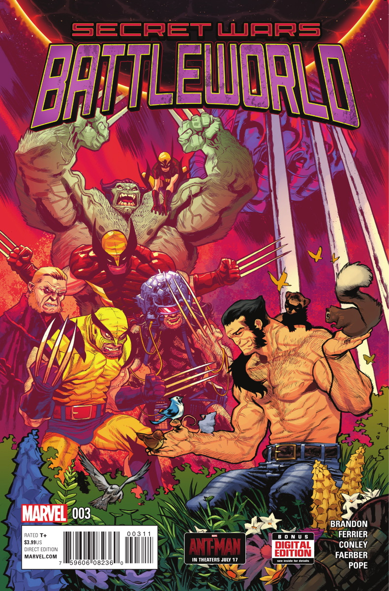 Secret Wars: Battleworld Vol 1 3