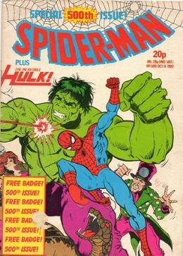 Spider-Man (UK) Vol 1