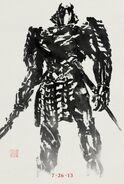 The Wolverine Poster Silver Samurai