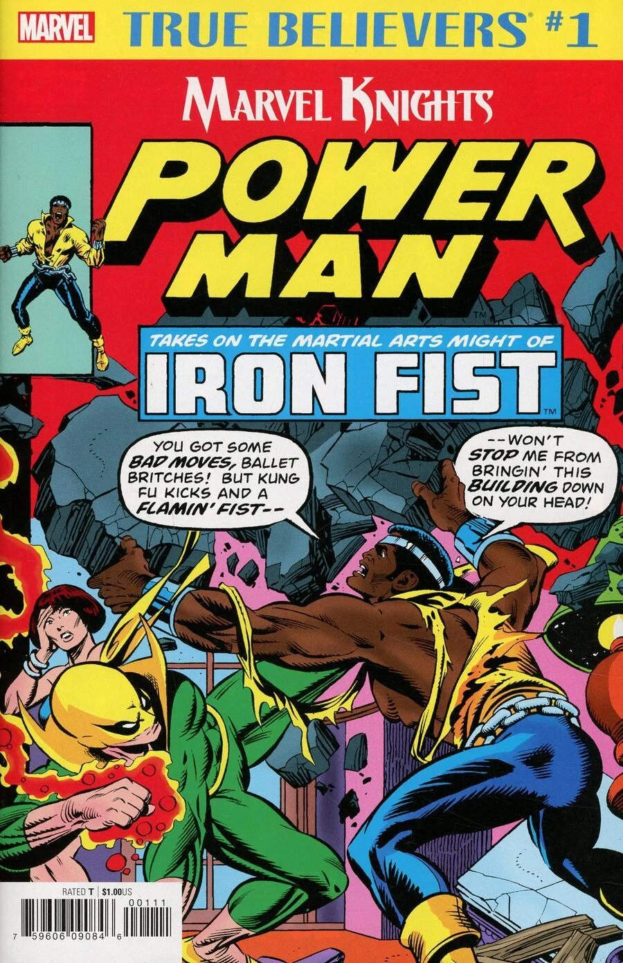 True Believers: Marvel Knights 20th Anniversary - Power Man and Iron Fist Vol 1