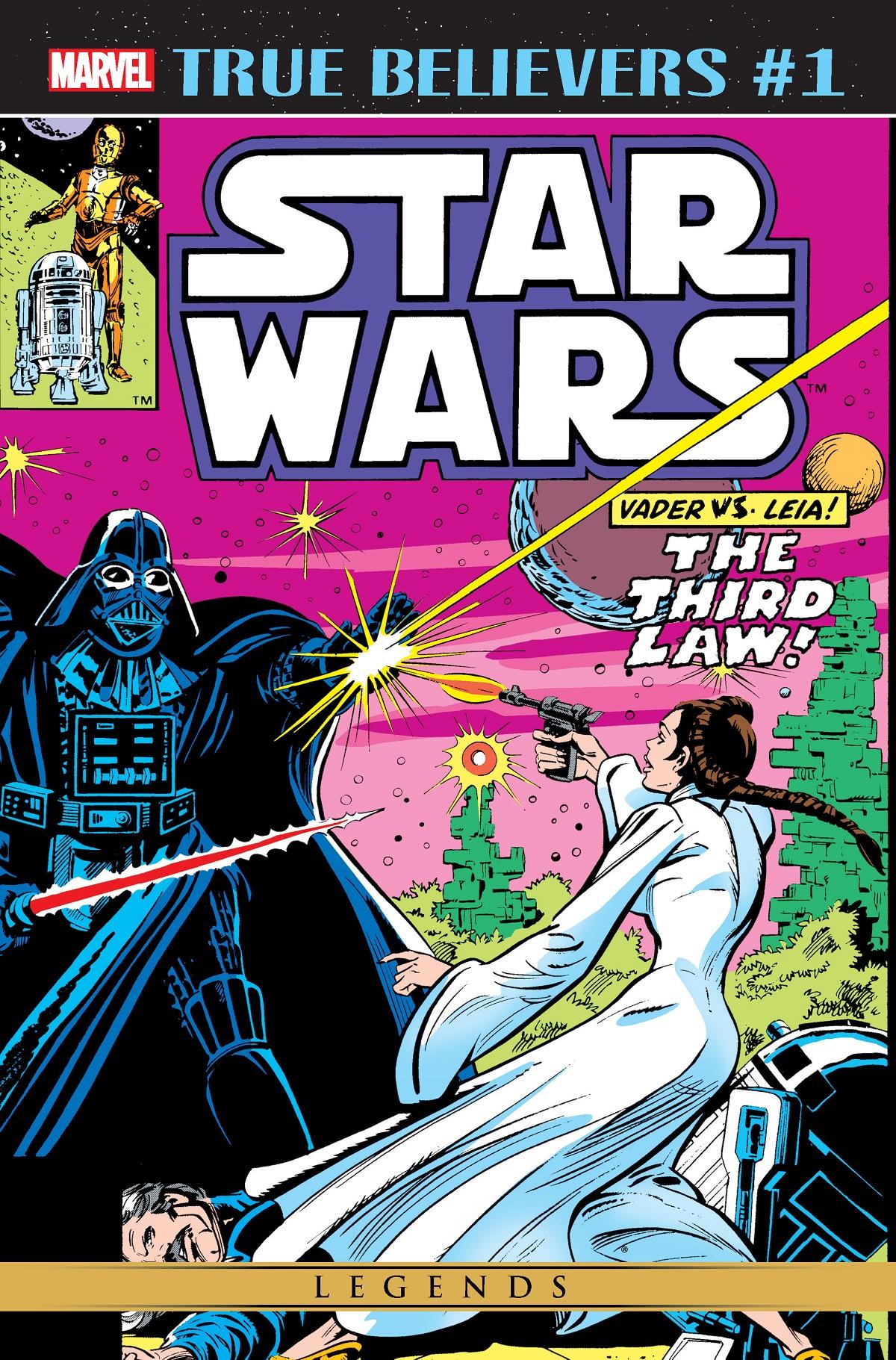 True Believers: Star Wars - Vader vs. Leia Vol 1 1