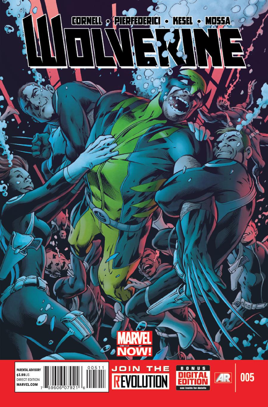 Wolverine Vol 5 5