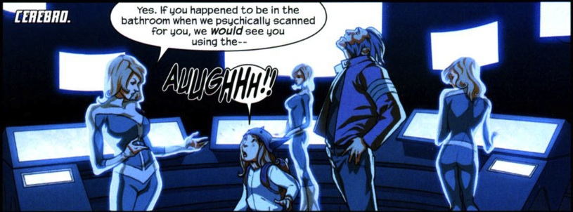 X-Men (Earth-616) and Molly Hayes (Earth-616) from Runaways Vol 3 10 0001.jpg