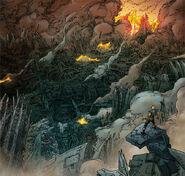 Xandar destroyed from Annihilation Prologue Vol 1 1 0001
