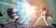 Antonio Stark (Earth-1610) and Gregory Stark (Earth-1610) from Ultimate Avengers vs. New Ultimates Vol 1 6 001