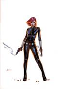 Black Widow Vol 7 1 Unknown Comic Books Exclusive Virgin B Variant
