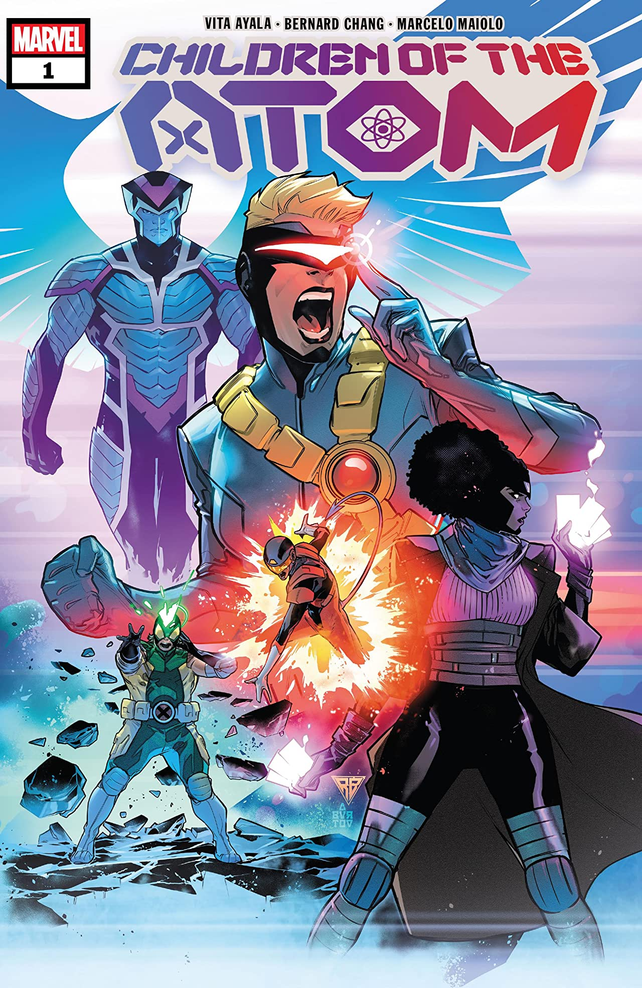 Children of the Atom Vol 1 1