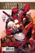 Deadpool vs. Old Man Logan Vol 1 1 Fried Pie Exclusive Variant