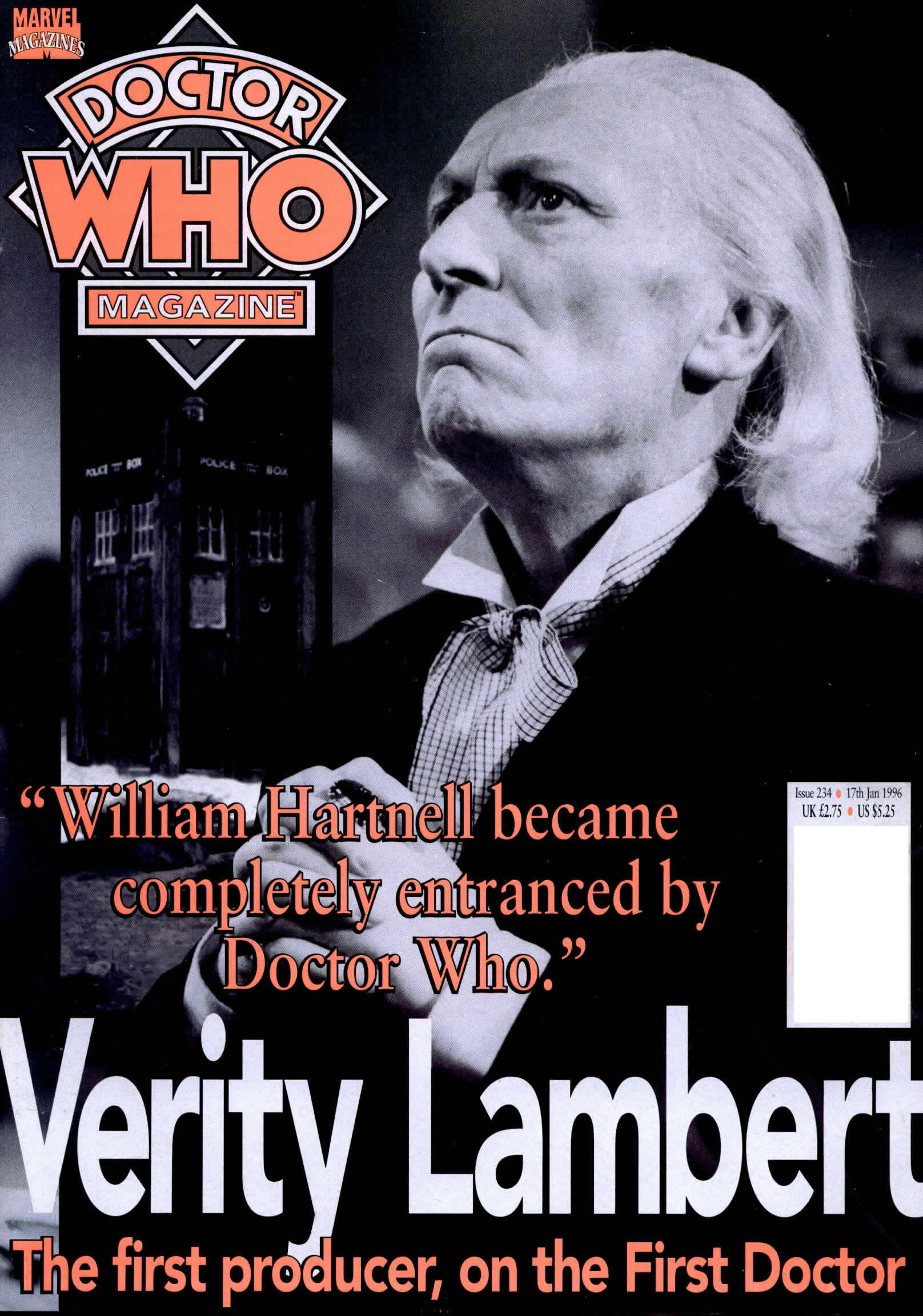 Doctor Who Magazine Vol 1 234