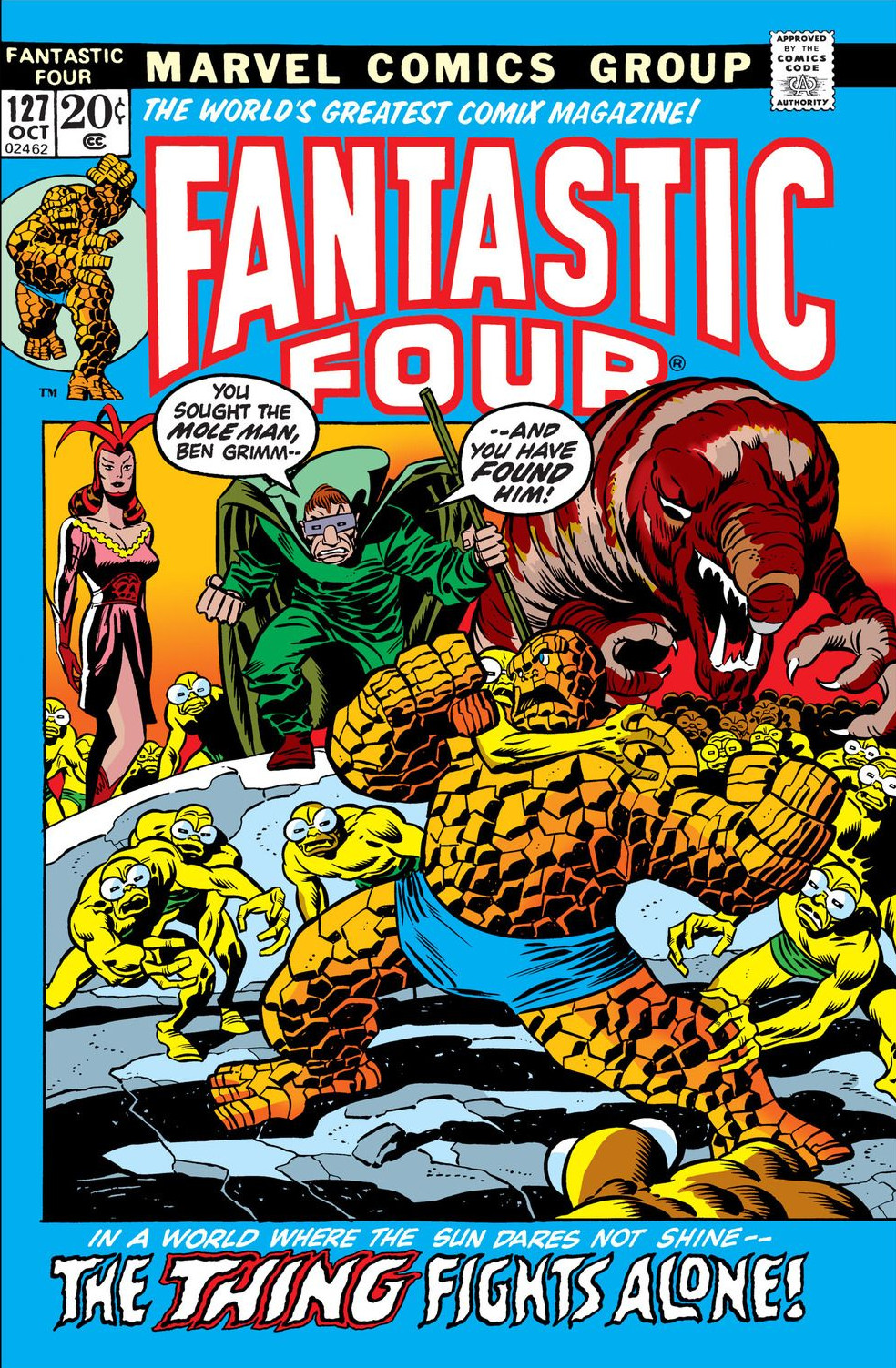 Fantastic Four Vol 1 127