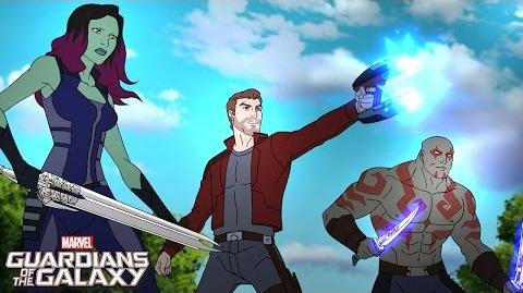 Guardians Reunited! Marvel Guardians of the Galaxy Disney XD